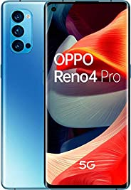 Oppo Reno4 Pro 5G 256GB 手机,蓝色/浅蓝色,Android 10,Dual