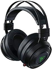 Razer 雷蛇 Nari Ultimate 无线游戏耳机(HyperSense无线耳机,耳垫带冷凝器,THX Spatial Audio & RGB Chroma 照明,适用于PC,Xbox One,PS4和S