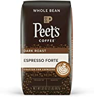 Peet's Coffee Espresso Forte,深度烘焙意式浓缩全豆咖啡,32 盎司(907.