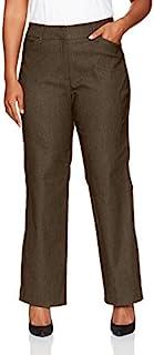 红宝石。 女式大码前门襟混色千年科技弹力裤