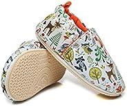 COSANKIM 婴儿男孩女孩拖鞋软底防滑运动鞋软帮学步鞋学步鞋圆圈屋鞋