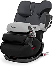 CYBEX 银色Pallas 2-Fix,2合1儿童汽车座椅,可调安全防护板,ISOFIX兼容,1/2/3组(9-36 kg),年龄约9个月至12岁,灰色兔子