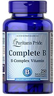 Puritan's Pride 普丽普莱 维生素B族复合物补充剂,