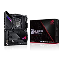ASUS 华硕 ROG Maximus XII Hero Z490 ( WiFi 6 ) LGA 1200 ( Intel * 10 代 ) ATX 游戏主板(14 + 2 电源阶段,DDR4 4800 + 5Gbps LAN,Intel LAN ,蓝牙 v5.1,Triple M.2,光环同步)