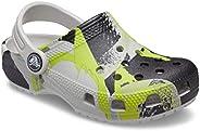 crocs 卡駱馳 中性兒童經典漸變木洞鞋