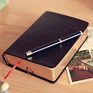 日记笔记本 旅行者 笔记本 圣经 皮革 规划 素描簿 记事本 复古纸便条 旅行 书籍 写作 日记本 基督教日记本 空白纸子弹日志记录