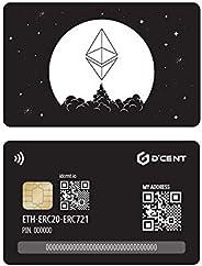 D'CENT 加密货币硬件钱包卡型,以太坊和 ERC2