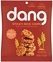 Dang Sticky Rice Chips, Sriracha, 0.7 Ounce (24 Count)