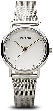 BERING Time 13426-001 女式经典系列手表带网状表带和防刮蓝宝石水晶。 丹麦设计。