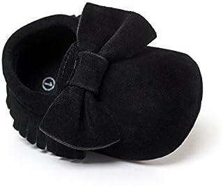 LIVEBOX 婴儿女童和男童优质软底软帮流苏 Prewalker 防滑幼儿鞋
