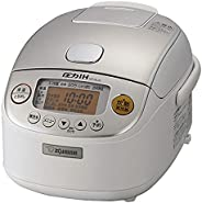 ZOJIRUSHI 象印 电饭煲 压力IH式 3合 极炊 黑色厚釜内胆 白色 NP-RL05-WA 需配变压器