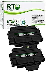 可替换碳粉盒,高产量替换件,适用于三星 MLT-D209 SCX-4828FN 4826FN ML-2855ND (2 件装)
