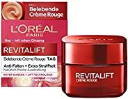 L'Oréal Paris 巴黎欧莱雅 Revitalift Crème Rouge 复颜抗皱紧致滋润日霜,含红参成分,