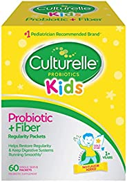 Culturelle Kids Regularity Probiotic & Fiber Dietary Supplement | Helps Restore Regularity & Keeps Kid