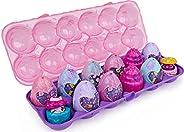 Hatchimals CollEGGtibles,宇宙糖果限量版秘密零食 12 件装蛋装纸箱,女孩玩具,女孩礼物,适合 5 岁及以上儿童