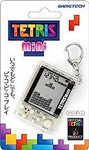 """TEATLIS 官方*产品 钥匙圈型手机游戏机 Tetris(R )迷你 (透明)"""""""