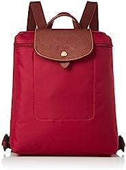 Longchamp 背包 1699 089 Brilliage 尼龙/皮质 可收纳B5尺寸&PC