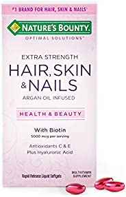 Nature's Bounty 自然之宝 Optimal Solutions *皮肤和* Extra Stre