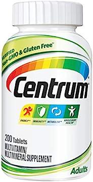 Centrum 善存 成人(200粒)復合維生素/多種礦物質補充劑片劑,維生素D3