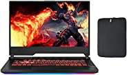 华硕 ROG G531GT-BI7N6 15.6 英寸 FHD 游戏笔记本电脑,Intel Hexa-Core i7-9750H *高 4.5GHz、8GB DDR4、512GB SSD、NVIDIA GeForce G