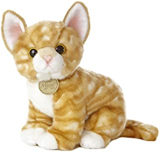 "Aurora World Miyoni Tots Orange Tabby Kitten 10"" Plush"