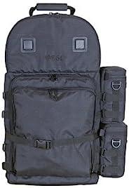 F.64 BPX 黑色 - Ex. 大型专业摄影背包 - 适用于 SLR DSLR 多镜头相机配件防水防雨罩装备旅行小工具加垫防水数字