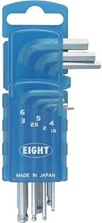 Eight 六角扳手 锥形头 标准尺寸 门座 套装TS-7SD