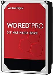 Western Digital 西部数据 10TB WD Red Pro NAS 内部硬盘驱动器-7200 RPM级,SATA 6 Gb / s,CMR,256 MB高速缓存,3.5英寸(约8.89厘米)-WD101KF