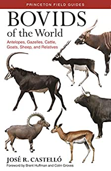 """Bovids of the World: Antelopes, Gazelles, Cattle, Goats, Sheep, and Relatives (Princeton Field Guides Book 104) (English Edition)"",作者:[José R. Castelló, Brent Huffman, Colin Groves]"