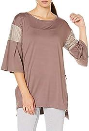 CW-X 女士上衣外套 瑜伽服 长款T恤(7分袖) DFY557