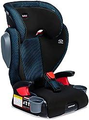 Britax 宝得适 Highpoint 2级皮带定位助推器,冷流通风织物汽车座椅-高背和后背| 3层冲击保护-适合40至120磅的人群(约18.14至54.43千克),蓝绿色