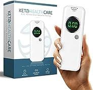 KetoHC 优质酮*计,带 X6 个可重复使用的吹嘴,几秒钟内即时准确的酮*测试结果