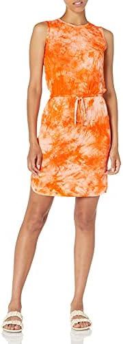 Calvin Klein 女式抽绳 T 恤连衣裙