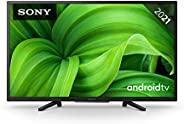 Sony 索尼 KD-32W800 BRAVIA 81 厘米(32 英寸)电视机(Android TV,2K HD,高动态范围(HDR),智能电视,2021 型号),黑色
