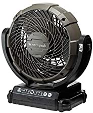 Snow Peak 雪諾必克 Makita牧田 野營風扇 MKT-102 帶AC適配器/電池充電器另售 棕色 ONE