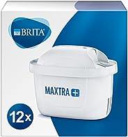 BRITA 碧然德 MAXTRA+ 滤水器滤芯 适用于所有碧然德滤水器,减少自来水中的水垢,氯和无味物质,12件装