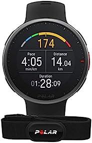 POLAR Vantage V2 - 高级多功能运动智能手表,带 GPS,基于手腕的人力测量,适用于所有运动 - 音乐控制、天气、手机通知