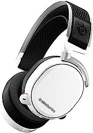 SteelSeries Arctis Pro 无线 无线游戏耳机 高分辨率扬声器驱动器 组合无线系统(2.4 GHz & 蓝