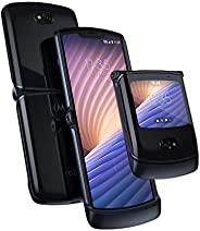 Motorola 摩托罗拉 Razr 5G 解锁手机,美国制造 | 8 / 256GB | 48MP相机 | 2020 | 液态汞