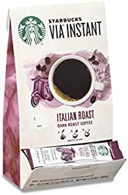 Starbucks 星巴克 VIA意式深度烘焙速溶咖啡,一盒装,每盒50条