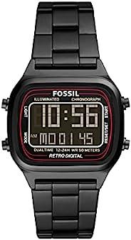 Fossil 手表 RETRO DIGITAL FS5845 男士 黑色