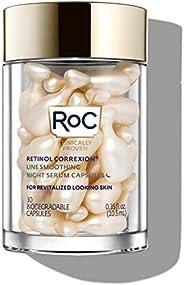 RoC 视黄醇Correxion Line 平滑夜间精华胶囊,30粒
