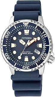 Citizen 西铁城 女式模拟石英手表塑料表带 EP6051-14L