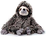Petting Zoo Sloth 填充動物玩具,兒童禮物,Wild Onez 動物園動物,樹懶毛絨玩具,20 英寸(約 50.8 厘米)