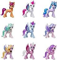 My Little Pony: 新一代电影皇家嘉年华系列儿童玩具 - 9 个小马公仔,13 个配件,海报(亚马逊*销售)