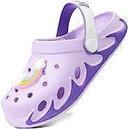 Weweya Kids 花园木底鞋 户外沙滩水卡通凉鞋 适合男孩女孩幼儿