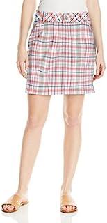 LEE 女式中腰修身宽松短裙