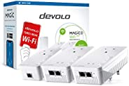 Devolo Magic 2 – 2400 WiFi 下一个: 终极全家庭网状 WiFi 套件通过电源线,4k/ 8k UHD 流和稳定的家庭工作(2400 Mbps,5 个 Gb LAN 端口,G.hn)