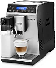 De'Longhi 德龙咖啡机Autentica ETAM 29.660.SB全自动咖啡机(数码显示,独立牛奶系统,可拆卸水洗设计,一次萃取两杯咖
