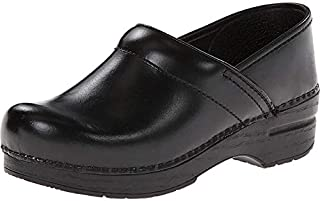 Dansko 男式专业 Cabrio 皮男式洞洞鞋